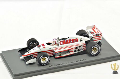 pascal Fabre #14 1:43 Spark s7235 AGS jh22 British GP 1987
