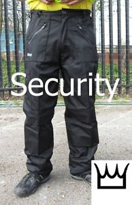 WWK-Mens-SECURITY-SIA-ACTION-WORK-COMBAT-TROUSER-ZIP-POCKETS