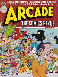 R. CRUMB S. CLAY WILSON CHECKERED DEMON SPAIN ZIPPY ARCADE COMICS REVUE #5 1976