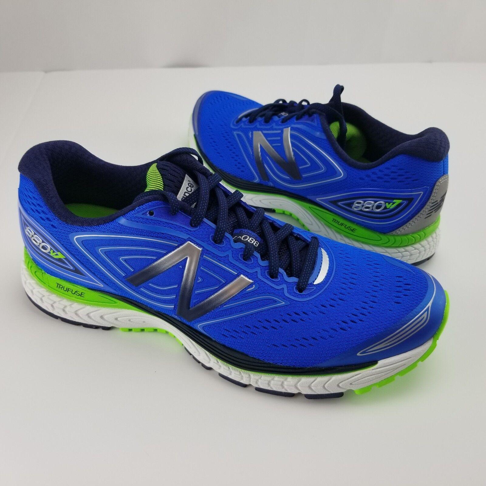 New Balance Men's 880v7 shoes bluee Sz 8 11 NB Running shoes