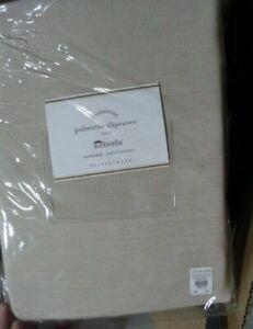 Pottery Barn Linen Sand Sunbrella Palmetto Lounge Chair Cushion Slipcover