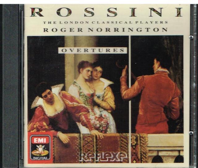 Rossini: Overture Da Opera / Roger Norrington, London Classical Players - CD