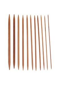 Long-25cm-Bamboo-Double-Pointed-Knitting-Needle-Set-of-5-Needles-2mm-5mm
