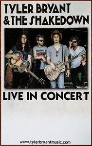 TYLER-BRYANT-amp-THE-SHAKEDOWN-Wild-Child-Ltd-Ed-RARE-Discontinued-Tour-Poster