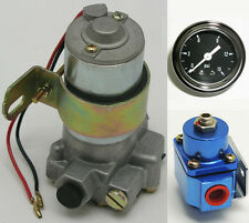 155 GPH ELECTRICAL HIGH VOLUME FUEL PUMP REGULATOR AND GAUGE KIT- WPM-FP-155-B-K