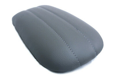 Fits 97-02 Ford Expedition Synthetic Armrest Console Cover Light Gray 8.5x15