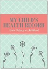 My Child's Health Record Keeper Log Book