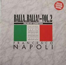 """Francesco Napoli-BALLA BALLA VOL. 2: Italian HIT Connection (2 x 12"""" Maxis)"""
