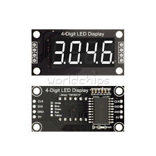 White 036 Tm1637 7 Segment 4 Digit Digital Tube Led Display Module For Arduino