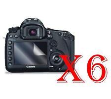 6 PZ PELLICOLA PROTEZIONE DISPLAY CANON EOS 5D Mark III PROTEGGI SCHERMO LCD