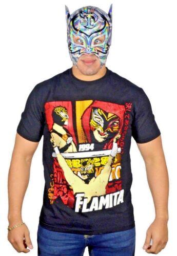 Talivision AO160 Flamita The Crash Lucha Libre-Wrestling Tshirt
