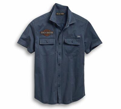 96667-19VM XL T-shirt Harley Davidson Men's Iron /& Freedom Slim Fit Tee