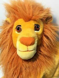 Disney-Mattel-Lion-King-Simba-Plush-Cat-JUMBO-Stuffed-Animal-Toy-Doll-24-034-Adult