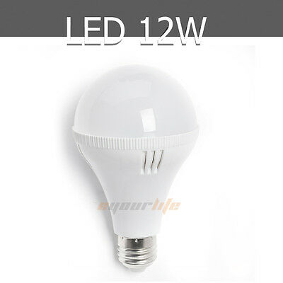 3W 5W 7W 9W 12W E27 Energy Saving voal LED Bulb Light Lamp Warm / Cool White LC