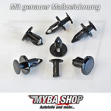 10x KLIPS UNTERFAHRSCHUTZ SPREIZNIETE CLIPS SEAT AUDI VW CHRYSLER RENAULT FORD