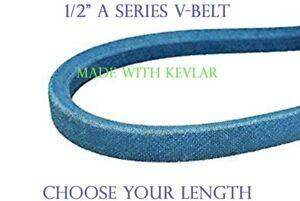"BLUE A103K A-SECTION MADE WITH KEVLAR V BELT 1//2/"" X 105/"""