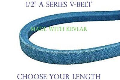 "A58K A-SECTION MADE WITH KEVLAR BLUE 1//2/"" X 60/"" V BELT"