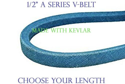 "V-Belt ~ 1//2/"" 4L Belt ~ Made w// Kevlar ~ A Section Belt 4LK ~ Choose Your Length"