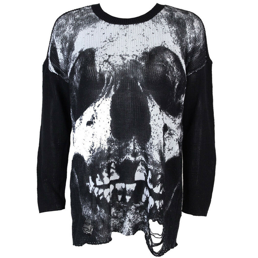 Iron Fist Strick Pullover - Loose Tooth Torn Sweater