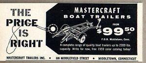 1959-Print-Ad-Mastercraft-Boat-Trailers-Price-is-Right-Middletown-CT
