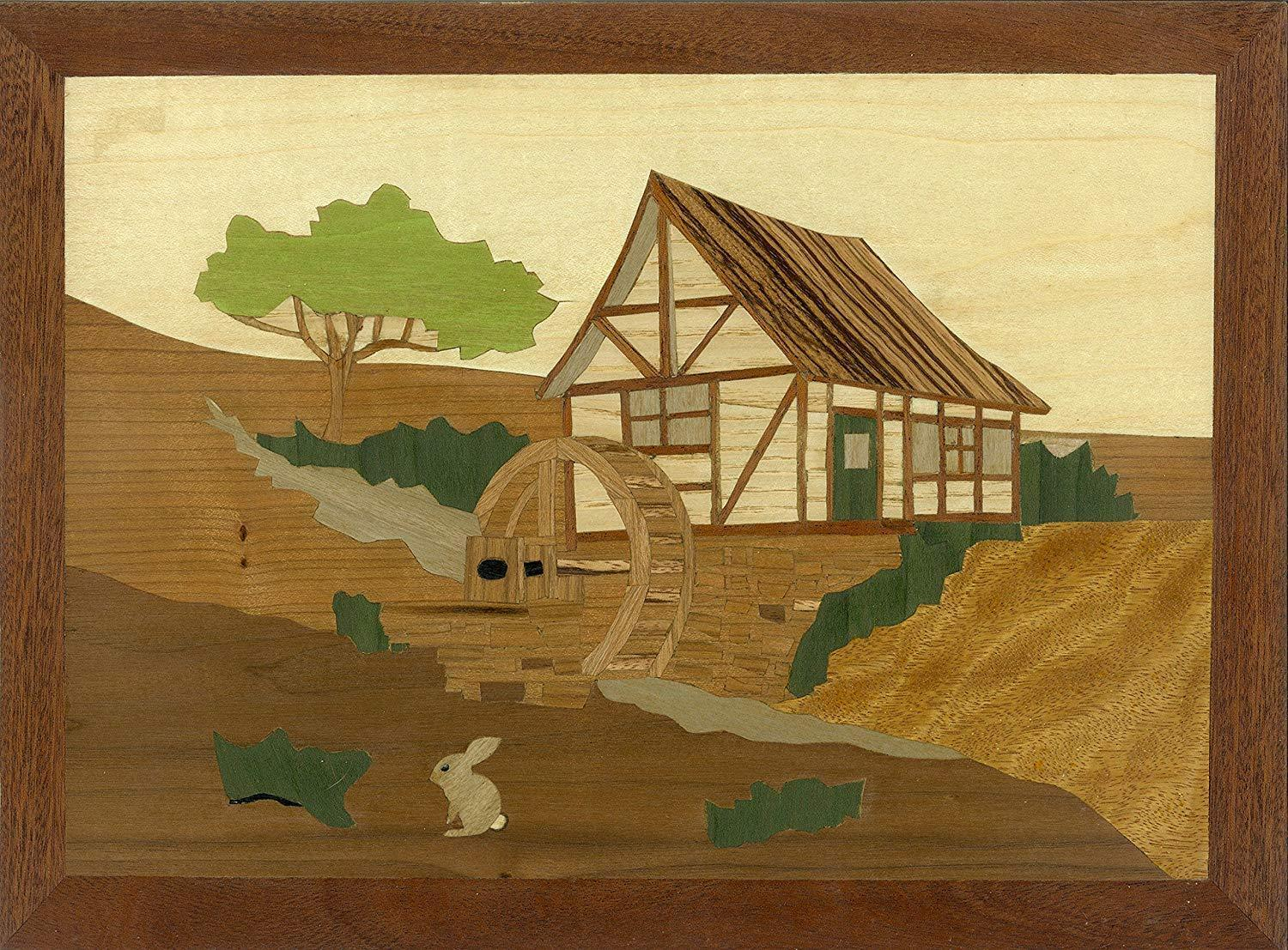 The Old Mill  Traditional Marquetry Craft Kit by Cove arbetarhop  Ålder 12 plus