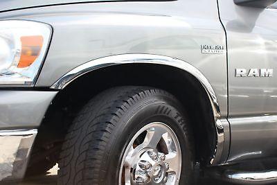 FTDO203 2009-2018 Dodge Ram 1500 Pickup POLISHED Stainless Steel Fender Trim