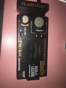 Dynamo & Solar Radio Receiver/Nippon/Black