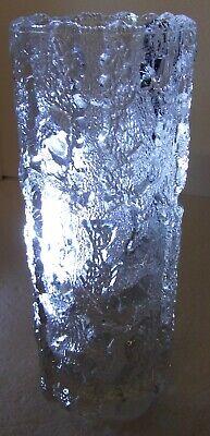 VertrauenswüRdig Zylinder Kristall Vase, Klar, Unsigniert, Ca: H 22 Cm, Dm 9 Cm, 1136 G Grade Produkte Nach QualitäT