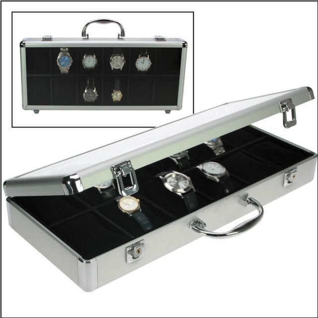 SAFE Valigia in alluminio di design per 12 orologi