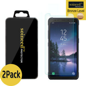 2-PACK-SOINEED-Samsung-Galaxy-S8-ACTIVE-Tempered-Glass-Screen-Protector-G892