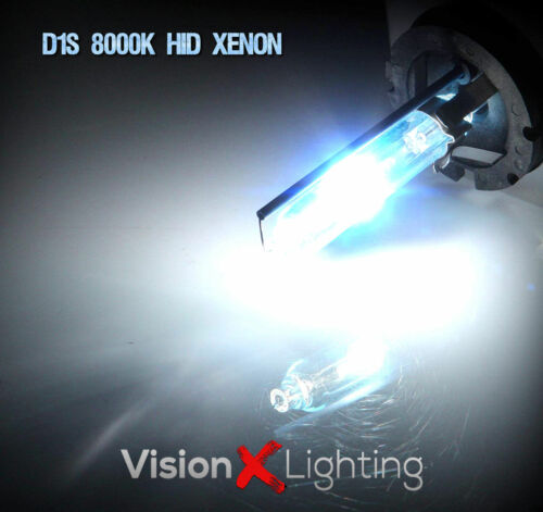 Pair D1S HID Xenon Ice Blue 8000K Bulbs 35W Replacement Headlight Low Beam AUDI