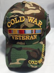 50eda5d2141032 Cold War Veteran Ball Cap US Army Navy USMC USAF USCG Military ...