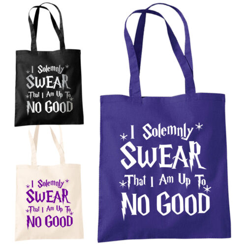 Wizard Harry Magic Shopper I Solemnly Swear That I Am Up To No Good Tote Bag