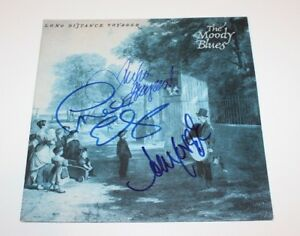 Details about THE MOODY BLUES BAND SIGNED LONG DISTANCE VOYAGER VINYL ALBUM  RECORD w/COA PROOF