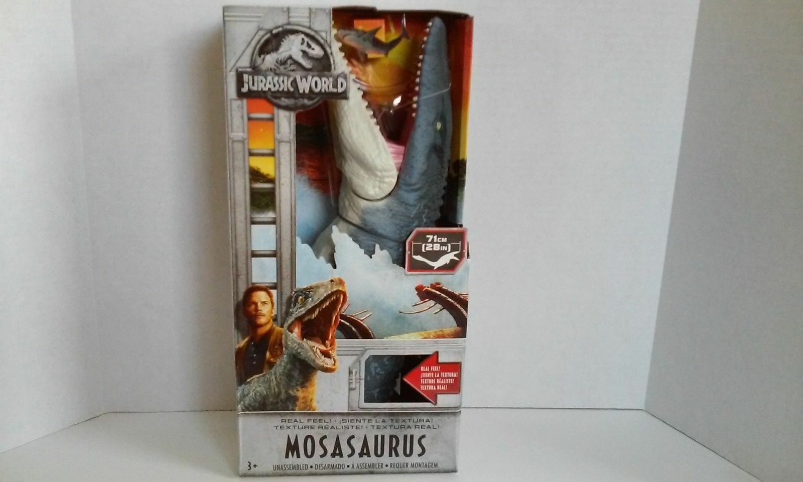 Mattel 2018 Jurassic World caído Reino Real Feel MOSASAURUS