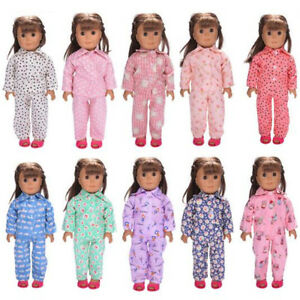 8a4b6140b13d Cute Pajamas PJS Nightgown Clothes for 18 inch Our Generation ...