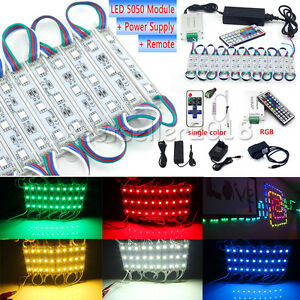 50FT-100FT-5050-SMD-3-LED-Module-STORE-FRONT-Window-Light-Strip-Remote-Power