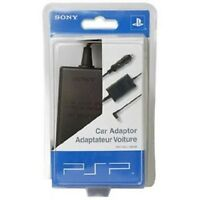 Genuine Sony Psp Car Adapter Power Cord Charger Cable 10ft Psp-180u 98528