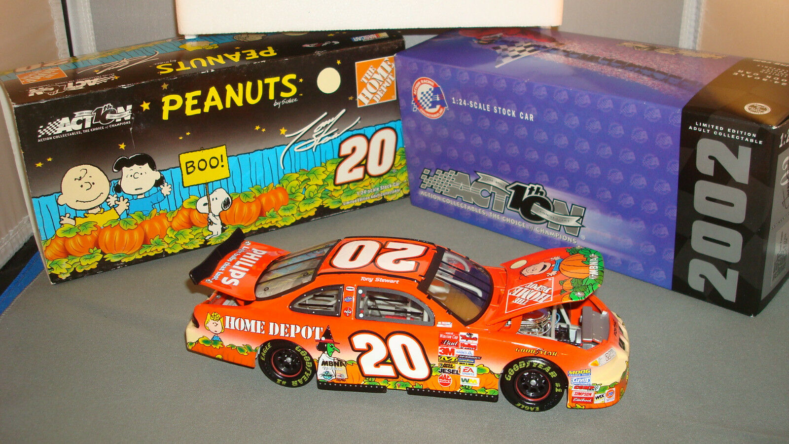 Action Diecast 2002 1 1 1 24 T. Stewart Home Depot   In Search of Great Pumpkin d0f7c6