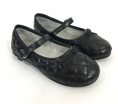 New Girls Toddlers Kids Jumping Beans Mary Jane Flat 73277 Black 129L tj