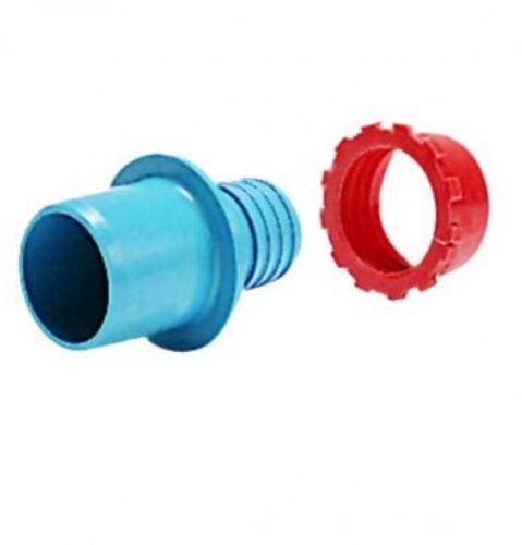 "Light Blue PLASSON Low Density PE 1/"" Adaptor 7786"