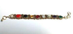 Navratna-Bracelet-Navratan-Bracelet-Gemstone-Wrist-Bracelet-100-Best-Quality