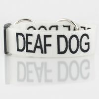 Deaf Dog Collar S, M, L - Free Shipping