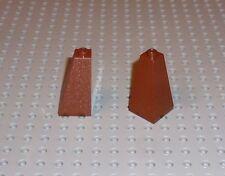 4 LEGO Medium Dark Flesh Slope 75 2 x 2 x 3 Double Convex-P//N 3685 nouveau B02