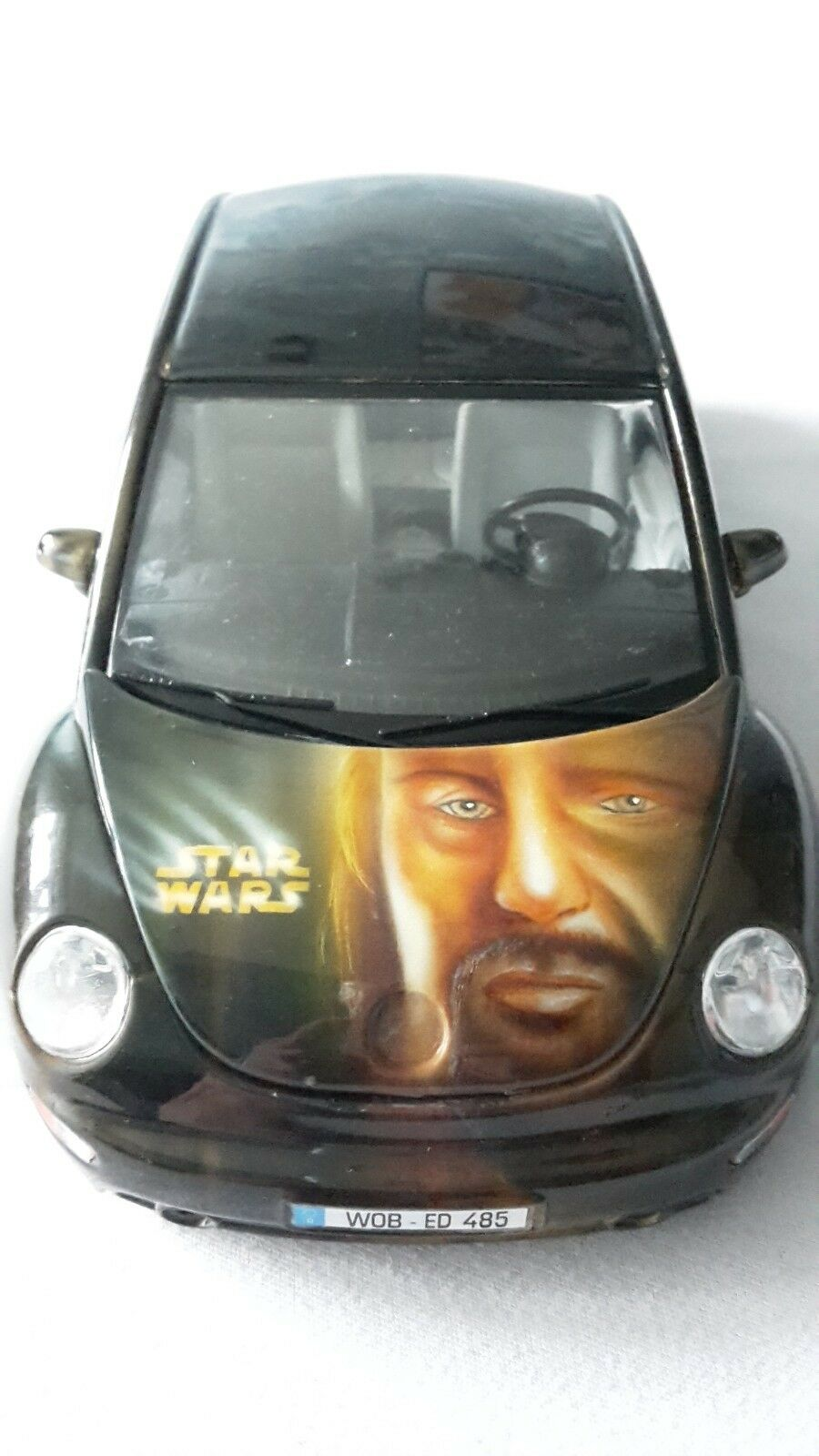 New Beetle   Star Wars   Airbrush   Bburago 1 18