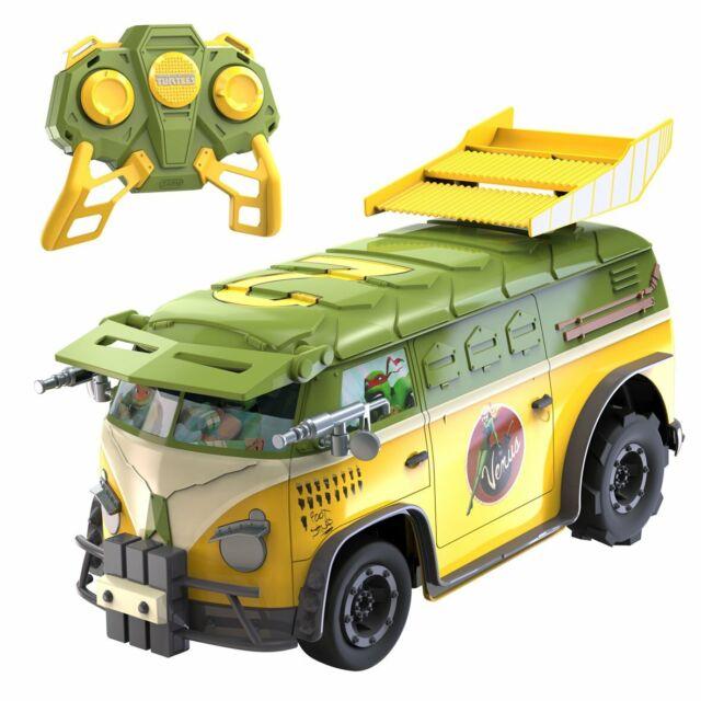 Nikko Teenage Mutant Ninja Turtles RC Party Van RC IR Remote Control Car NEW
