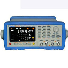 Brand New At510m Electric Resistance Meter Micro Ohm Meter 100 20m