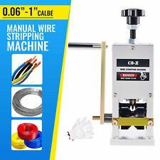 Manual Wire Stripping Machine Copper Cable Peeling Stripper Drill Connector