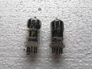 2x-Mullard-RFT-ecc81-12at7-b152-cc81e-Vacuum-Doppel-Triode-Rohre-NEU