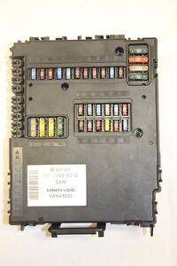 REPARATUR vom SMART ForTwo 450 SAM STEUEREINHEIT ZENTRALELEKTRIK 0011868V012